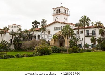 dış · Kaliforniya · ünlü · mahkeme - stok fotoğraf © backyardproductions