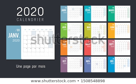 Planning on calender Stock photo © kawing921