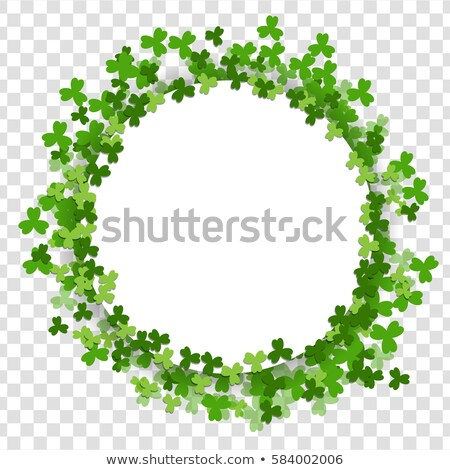 St. Patrick's Day blank Letter Stock photo © Winner