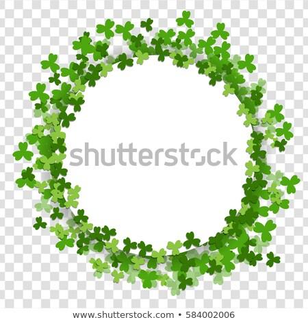 st patricks day blank letter stock photo © winner