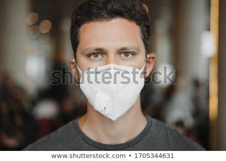 Close-up of respirator Stock photo © wavebreak_media