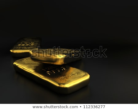 баров · банка · золото · деньги - Сток-фото © olivier_le_moal