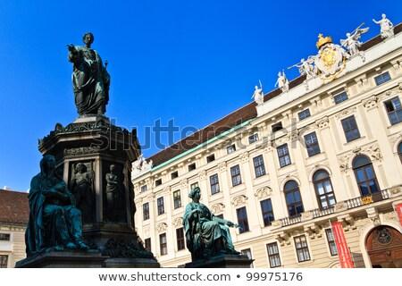 фонтан · Фонтан · Треви · Рим · воды · лошади · искусства - Сток-фото © bertl123