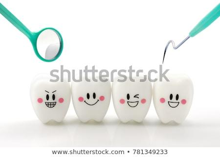 dentales · diente · salud · símbolo · dentista · medicina - foto stock © Lightsource