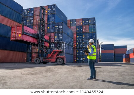 global delivery shipping stock photo © lightsource