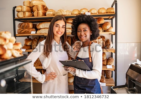 Portrait of a loaf Stock photo © danielgilbey