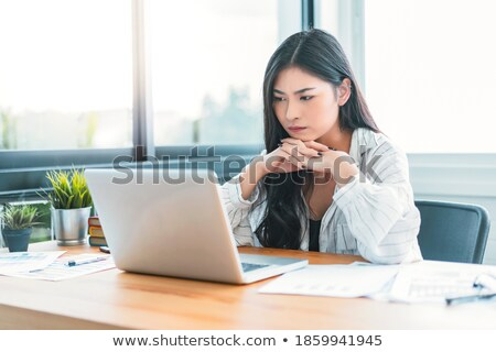 Impatient Business Woman stock photo © eldadcarin