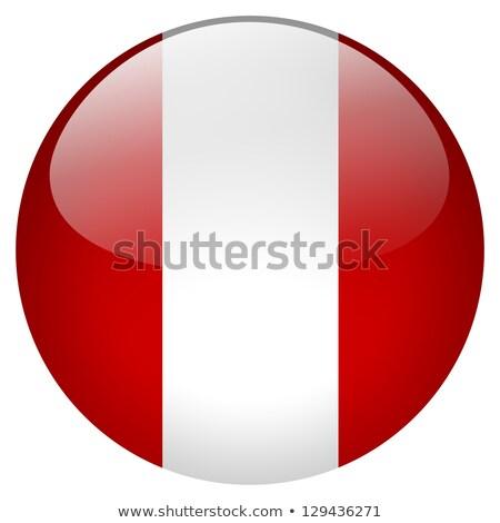 стекла · кнопки · флаг · Перу · красный · лук - Сток-фото © maxmitzu