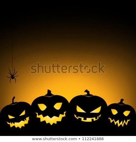 Halloween tutaj sklep wejście dekoracje Zdjęcia stock © gophoto
