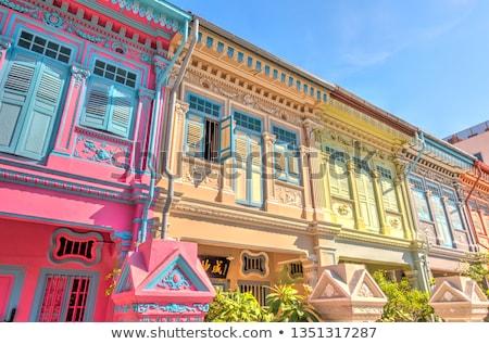 Colorful Singapore Stock photo © joyr