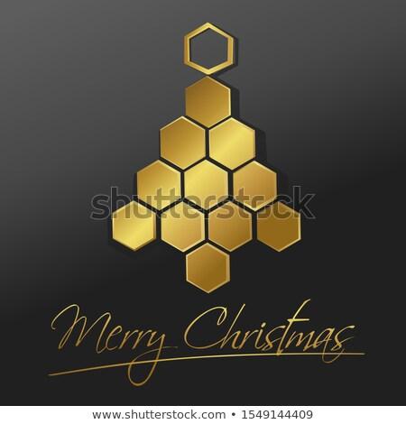 Bee At Christmas Foto stock © jagoda