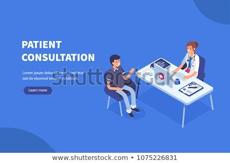 médico · paciente · médico · escritório - foto stock © kirill_m