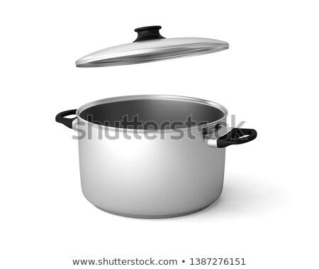pot with lid Stock photo © mayboro1964