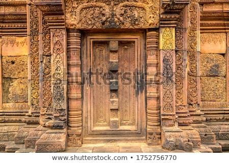 рельеф · подробность · храма · руин · искусства · каменные - Сток-фото © prill
