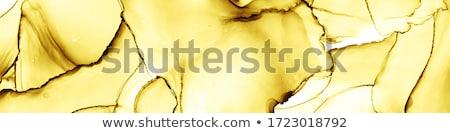 narancs · vízfesték · absztrakt · vászon · textúra · citromsárga - stock fotó © PixelsAway