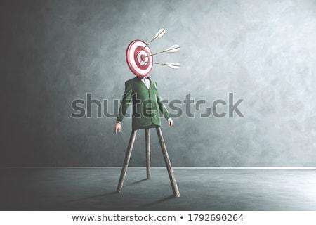 target head Stock photo © flipfine