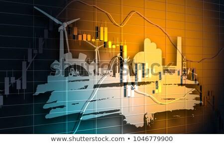 падение · нефть · цены · бизнесмен · комнату - Сток-фото © lightsource