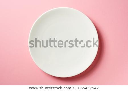 белый пластина Top чай Сток-фото © tangducminh