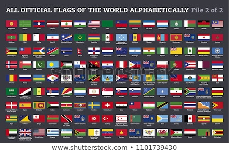 Race flag World flags Collection  stock photo © dicogm