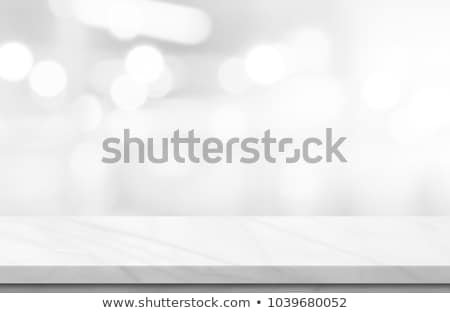 Table on white background Stock photo © ozaiachin