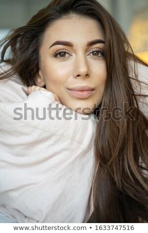 vrouw · borsten · handen · mode · model · schoonheid - stockfoto © wavebreak_media