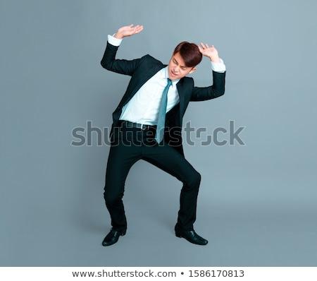 business man carry something stock photo © fuzzbones0