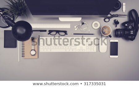 Web Design. Office Working Concept. Stock photo © tashatuvango