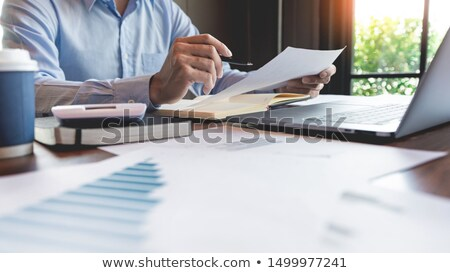 складе таблице иллюстрация номера кардиограмма Сток-фото © Suljo