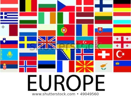 germany and bosnia and herzegovina flags stock photo © istanbul2009