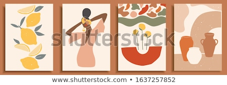 venda · compras · desenho · animado · vetor - foto stock © netkov1