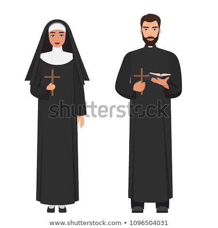 priest and nun Stock photo © adrenalina