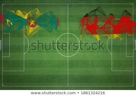 Németország Grenada zászlók puzzle izolált fehér Stock fotó © Istanbul2009