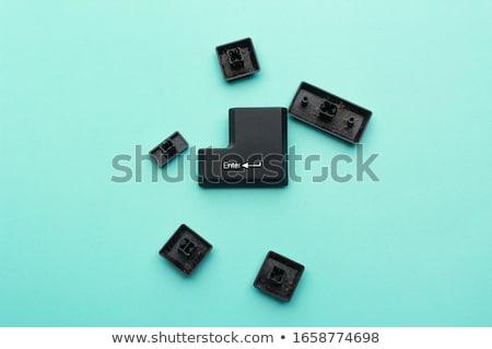 壊れた ノートパソコンのキーボード ボタン 緊急 必要 修復 ストックフォト © koldunov