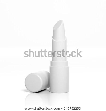 3D isolé rouge à lèvres sin femme beauté Photo stock © IvanC7
