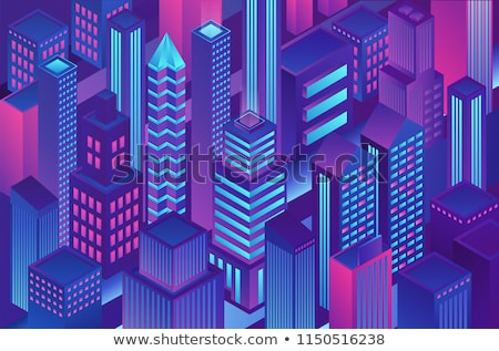 Sécurisé transaction violette vecteur icône design Photo stock © rizwanali3d