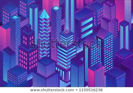 Secure Transaction Violet Vector Icon Design Stock photo © rizwanali3d
