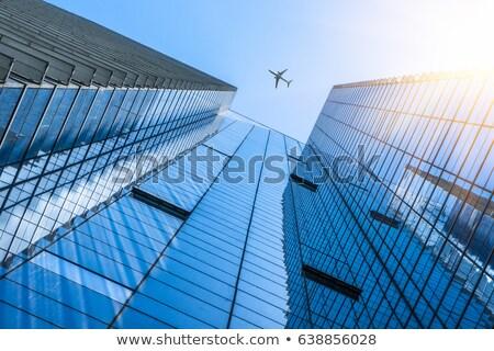 солнце · современных · бизнеса · небоскреба · здании - Сток-фото © unkreatives