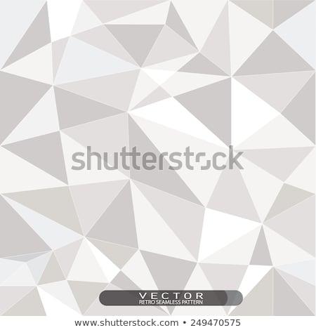 аннотация · искусства · синий · вектора · многоугольник · бесшовный - Сток-фото © beaubelle