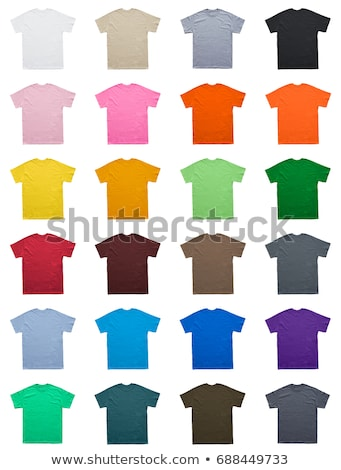 Green T-shirt isolated on white background Stock photo © shutswis