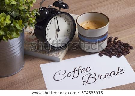 Кубок · кофе · кофе · боб · подробный · мнение - Сток-фото © capturelight