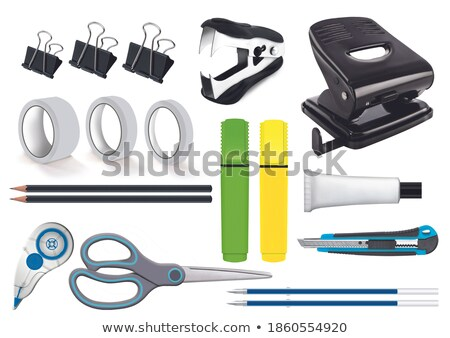 Realistic scalpel isolated on a white background Stock photo © smeagorl
