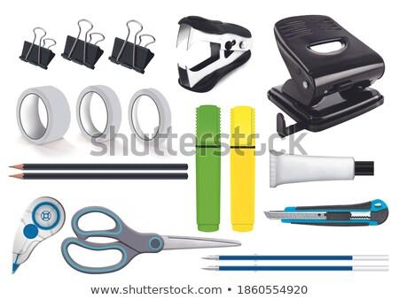 Realistyczny skalpel odizolowany biały wektora medycznych Zdjęcia stock © smeagorl