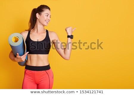 Girl in sportwear Stock photo © svetography
