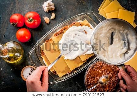 frescos · casero · cocina · italiana - foto stock © digifoodstock