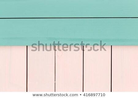 創造 緑 バラ 着色した 木材 ストックフォト © ozgur