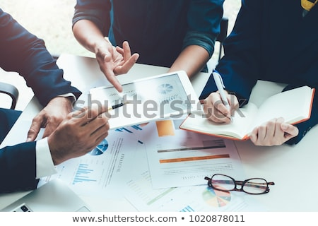 Beratung Marketing Idee Ballon Heben Stock foto © Lightsource