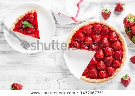 Apetitoso casero queso rojo Foto stock © simply