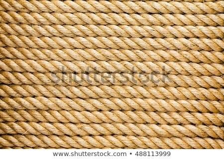 Parallèle corde nouvelle naturelles fibre full frame Photo stock © ozgur