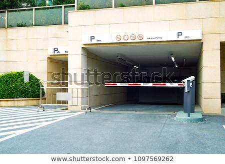 Parking Garage Ramps Stock photo © Frankljr