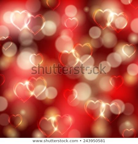 hearts bokeh as effect eps 10 stock photo © beholdereye